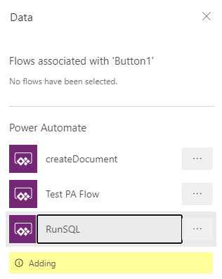 Running SQL Queries in PowerApps 11
