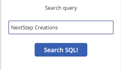 Running SQL Queries in PowerApps 15