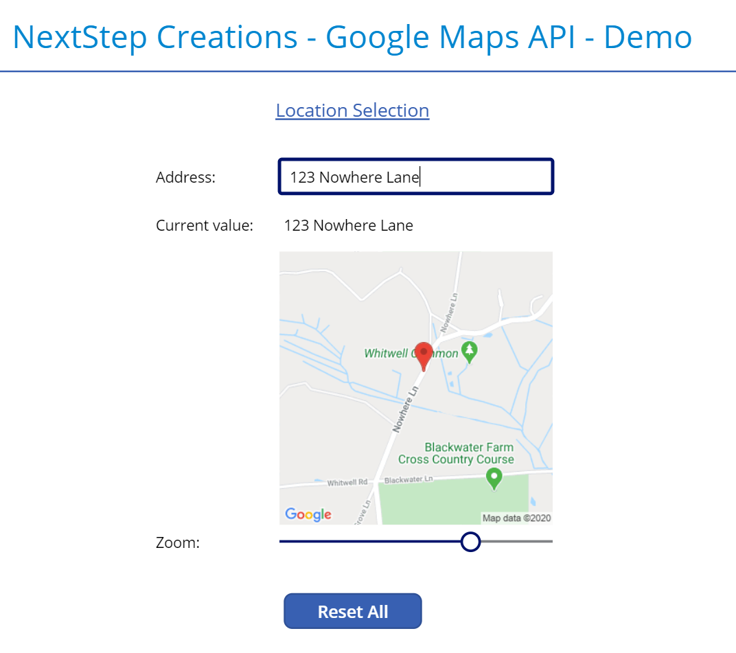 Google Maps in PowerApps - Fast & Efficient 5