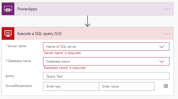Running SQL Queries in PowerApps 7